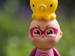 Tako-man (Jam-Gloom) Tags: macro cute angel toy toys bokeh olympus octopus sonny omd qee sonnyangel em5 bokehlicious toyography takochu olympusomd olympusomdem5 qeesonny