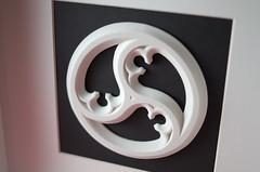 Dreischneuss-Neu_3 (Georg Kreuter) Tags: white print 3d gothic blender 3dprinting 3dprint shapeways dreischneus