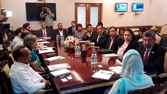 Had a Meeting with  Bahrain Business Council  - Harsimrat Kaur Badal (1) (harsimratkaur_badal) Tags: food india sad meeting business punjab development activities possibilities delegation foodprocessing hasimratkaurbadal