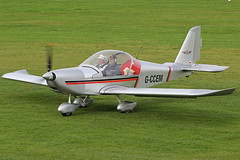 G-CCEM (QSY on-route) Tags: city manchester airport barton egcb gccem 10102015