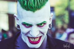 Let's put a smile on that face. (Alien the Human) Tags: costumes portrait art halloween smile comics nikon cosplay makeup 85mm geeks nerds comicbooks joker comicon nycc d7100 nycc15 comicon2015 nycc2015 comicon15