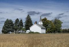 Rural Church (MalaneyStuff) Tags: fall church wisconsin rural nikon d5100 ruraloct2015