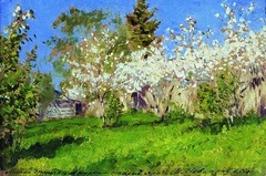 levitan_apple_trees_blossom_1896 (Art Gallery ErgsArt) Tags: museum painting studio poster artwork gallery artgallery fineart paintings galleries virtual artists artmuseum oilpaintings pictureoftheday masterpiece artworks arthistory artexhibition oiloncanvas famousart canvaspainting galleryofart famousartists artmovement virtualgallery paintingsanddrawings bestoftheday artworkspaintings popularpainters paintingsofpaintings aboutpaintings famouspaintingartists