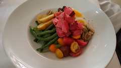 Nicoise salad at The Compound