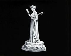 Masonic Magic Lantern Slide: Prudence (digitalSRMML) Tags: scottishritemasonicmuseumandlibrary magiclantern freemasonry scottishrite fraternal masonic mason freemason masonry symbolism masonicsymbolism fraternity brotherhood art museum