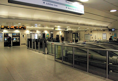 Waterloo Underground station (bowroaduk) Tags: tube londonunderground londontransport
