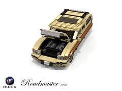 Buick Roadmaster Estate (1992) (lego911) Tags: auto birthday usa car america wagon buick model gm estate lego general render woody motors 1992 challenge v8 1990s 8th cad lugnuts 96 povray roadmaster moc ldd generationgap miniland lego911 happycrazyeighthbirthdaylugnuts