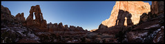 Druid Arch (doug k of sky) Tags: park elephant utah arch doug canyon national canyonlands druid mountainscapes kofsky