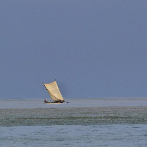 #Catamaran at sea (#IndianOcean). #SriLanka