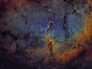 IC1396 - the Elephant's Trunk Nebula