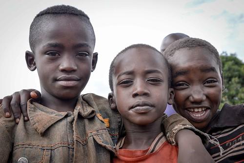 Suri Town Boys, Kibish, Ethiopia