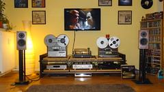 Anlage 06.12.15 (benno1963) Tags: analog vinyl turntable stereo hifi reeltoreel plattenspieler teac akai marantz schallplatte scheu tonband spendor pm17 benzmicro