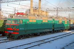 VL80S-2186 (zauralec) Tags: парк поезд локомотив станция челябинск электровоз 2186 а вл80с челябинскглавный vl80s2186 вл80с2186
