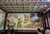Big Wild Goose Pagoda-5682 (kasiahalka (Kasia Halka)) Tags: unescoworldheritagesite giantwildgoosepagoda bigwildgoosepagoda buddhistpagoda tangdynasty 652 morningbell godofwealth xuanzang xian china