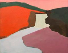 Red Rock Falls, 1947 (Jonathan Lurie) Tags: montana oil painting mam vista art museums modern museum wisconsin avery milwaukee red rock falls milton artinmuseums miltonavery milwaukeeartmuseum milwaukeewisconsin modernart montanavista oilpainting redrockfalls unitedstates us