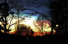 sunset over Farsta Strand (Mister.Marken) Tags: sweden evening sunset larsboda farstastrand iphonography iphone6plus