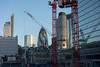 Gherkin (Spannarama) Tags: crane gherkin tower42 buildings skyline city windows reflections moorlane london uk