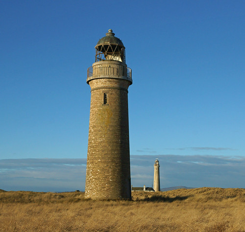 Buddon Ness Lighthouses