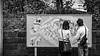 Guide Map!! (Kompakin Borwornpakramil) Tags: fujisawashi kanagawaken japan jp canon 1dx markii ef2470mmf28liiusm enoshima people bw blac monochrome streetphotography