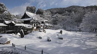 Kodai-ji in Winter 雪景色の高台寺