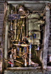 Hydraulic (arbyreed) Tags: arbyreed machine aircraft abandoned forgotten disused system aircrafthydraulicsystem tubes hdr metal c123provider explore