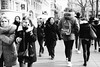 Untitled (Louise de Cours) Tags: canon art photography 35mm blackandwhite bw explore streetphotography street city toulouse people crowd france grain winter 2017 movement blur stilllife everydaylife
