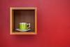 _MG_9522 (TonivS) Tags: antonvanstraaten minimalistic abstract airbnb wallart red tea teacup framedteacup