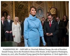 First Lady, Melania Trump (Bill, 1,595,437 million views) Tags: trump mrstrump mrs melania melaniatrump firstlady presidential numberone wife mother ralphlauren
