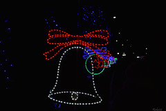 Luces Campana navideña (rivkahernandez) Tags: christmas bell lights lucesnavideñas navidad