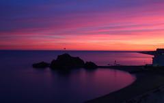 Sa Palomera (Albert T M) Tags: blanes sapalomera capvespre sunset atardecer costabrava mediterrani horablava catalunya
