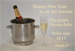 *** Happy New Year ***   (Explored - Thank you .. ;)  . _DSC4979-001 (Maya HK - On and Off) Tags: 2016 271216 añonuevo añonuevo2017 champán champagne champagner copyrightbymayawaltihk felicidades flickr glückwünsche greetings jahreswechsel makro moetchandon neujahr neujahr2017 newyear newyear2017 nikond3200 nochevieja silvester2016 explore explored