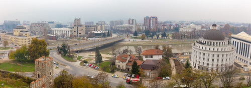 View From Skopje Fortress