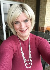 """Off to the Holiday Inn @ Eastleigh (nr Southampton) for my """"Speed Awareness Course"""" - ooops naughty me :) (joanne.lockwood1965) Tags: england unitedkingdom gb indoors heels skirt blond blonde cd convincing crossdress crossdresser crossdressing enfemme feminisation feminization gurl happy legs lgbt m2f makeup me mtf passable pose selfie shemale smile tcute tgirl tgurl tights tilf tranny trans transcute transformation transgender transgendered travesti transgirl transvestite transwoman ts tv wig xdress xdresser face portrait"""