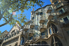 Casa Batllò (z_andana) Tags: casa batllo antoni gaudi barcelona spain europe summer