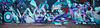 Dissolving_Demarcation (Dennis Valente) Tags: 5dsr art contemporaryurbanart joeraelelliott streetart sw southwestern rooseveltrowartsdistrict isobracketing spraypaint urbanart southwest 2016 valleyofthesun panoramic paint hdr phoenix arizona mural wallart panorama rooseveltrow paintphx paintphoenix