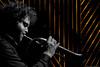 La Maison Mère (Renaud Alouche) Tags: rouge red concert lihgts light black white contrast flash nikon nature travel live photo music musique guitar bass trumpet microphone mouvement d7100 d7000 blue crowd eyes eye smile