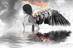 Iη тнє ѕєα σƒ му тняσυgнтѕ | Oksana ARTPortrait (AyE ღ Mє, му Єηяιqυє ♥ му Λят) Tags: digitalart digitalpainting digitalfantasy painting artworks portraits beauty illustrations artportrait ritratto retrato portrature dreamy vision magical emotionalart emotional angel fantasyangel magicalwings wings angelwings digitalillustration