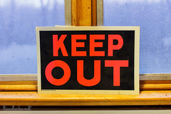 2017 24/365 - Keep Out (lisaclarke) Tags: 365 3652017 photoprojects project365 longhill newjersey unitedstates us