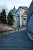 To the Church (ETt_) Tags: church oratoire stjospeh montreal stairs heaven paradise concret dark evil crosses