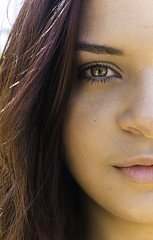 Olhos nos olhos (fernandafgomes) Tags: nikon nikond3300 1855mm brasil bosquedabarra woman mulher errejota rj riodejaneiro girl eyes olhar