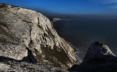 On The Face Of It (Gary Baldy) Tags: cliffs sea rocks freshwaterbay isleofwight pentaxk3 sigma18250mmmacro