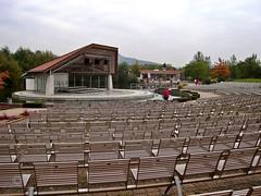 Seebühne im Kurpark von Bad Staffelstein