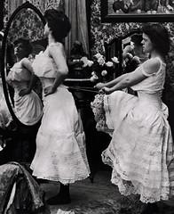 Tighten Up (~ Lone Wadi ~) Tags: prostitutes corset fashion ladies women bordello brothel retro 1890s 19thcentury victorian