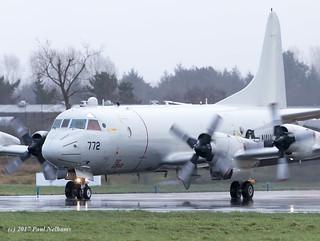 Bu162772 P-3 USN