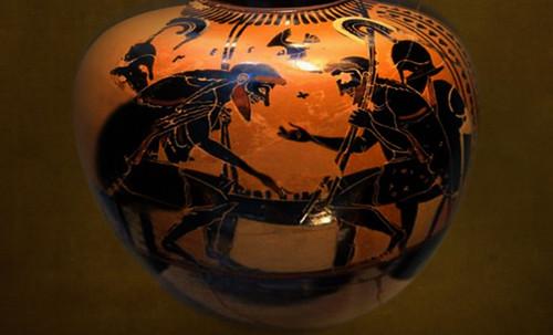"Petteia - Ludus Latrunculorum  / Iconografía de las civilizaciones helenolatinas • <a style=""font-size:0.8em;"" href=""http://www.flickr.com/photos/30735181@N00/32481386836/"" target=""_blank"">View on Flickr</a>"