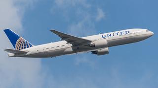 Boeing 777, N771UA, United Airlines.
