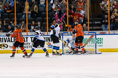 "Missouri Mavericks vs. Wichita Thunder, February 3, 2017, Silverstein Eye Centers Arena, Independence, Missouri.  Photo: John Howe / Howe Creative Photography • <a style=""font-size:0.8em;"" href=""http://www.flickr.com/photos/134016632@N02/32561325612/"" target=""_blank"">View on Flickr</a>"