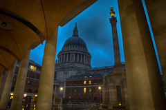 Paternoster (Nick.Richards) Tags: paternostersquare paternoster stpauls stpaulscathedral city architecture cityoflondon evening bluehour london lightroom nikon nikon1685 nickrichards nikond7100 nikefex d7100 1685