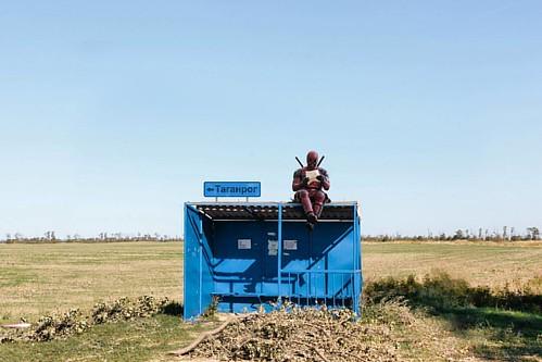 Дэдпул и его путешествие по России #таганрог #дэдпул #путешествияпороссии