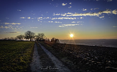 sunset Lörrach (the_rush_rain02) Tags: sunset soleil germany champs